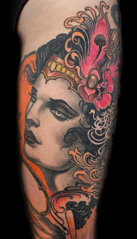 tattoo women new traditional .png